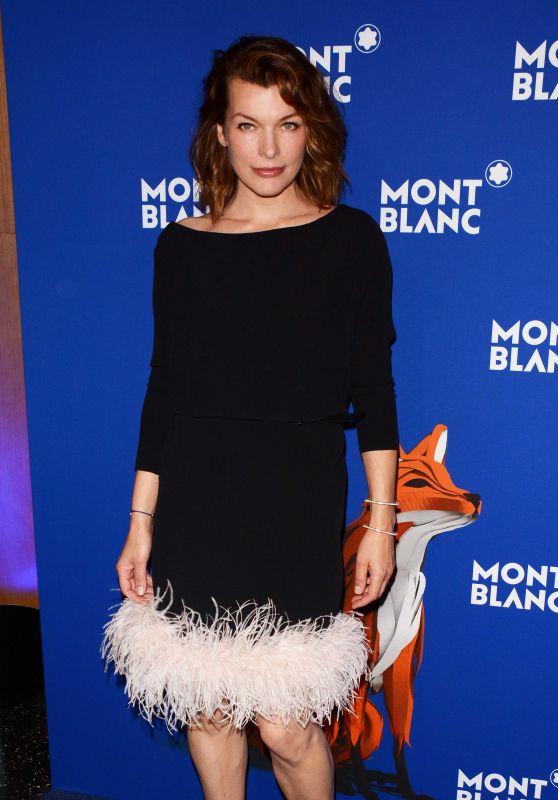 Milla Jovovich – Montblanc Celebrates 75th Anniversary of Le Petit Prince in NY