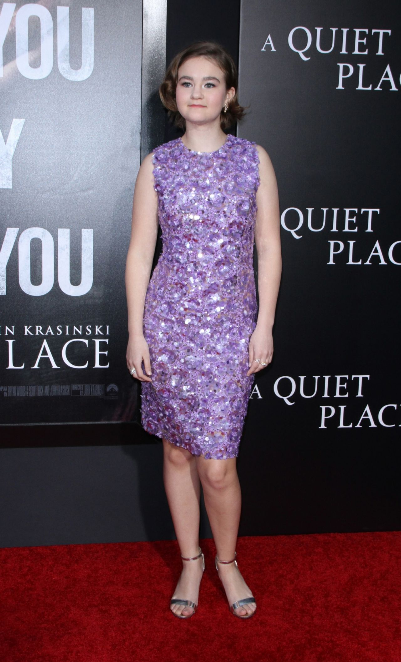 Millicent Simmonds A Quiet Place Premiere In Nyc