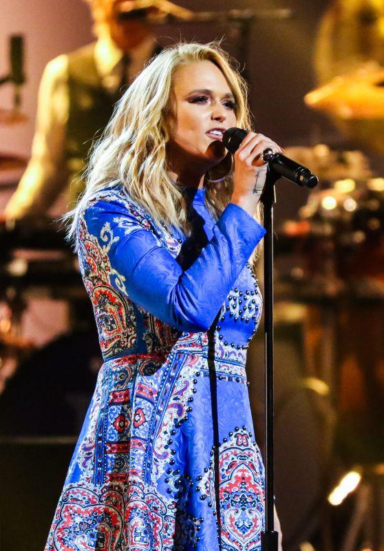 "Miranda Lambert – ""Elton John: I'm Still Standing – A Grammy Salute"" Concert in New York 03/30/2018"