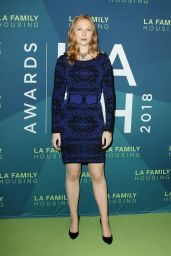 Molly Quinn – Dwayne Johnson Honored at the LA Family Housing Awards 2018 in West Hollywood