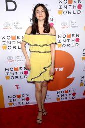 Monica Barbaro - 2018 Women in the World Summit in New York