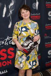 """Monica Dolan – """"Witness for the Prosecution by Agatha Christie"""" Play at London County Hall"""