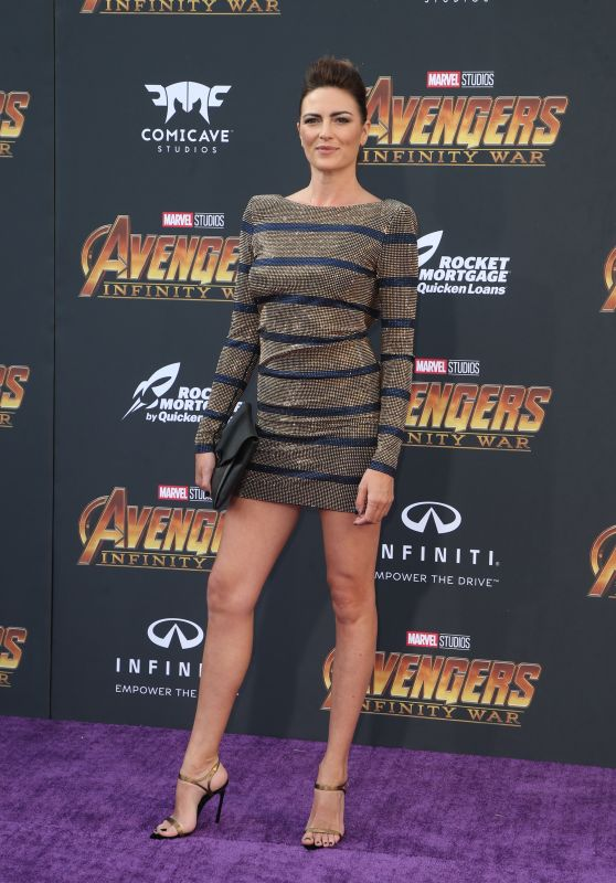 "Monique Ganderton – ""Avengers: Infinity War"" Premiere in LA"