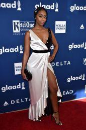 Nafessa Williams – 2018 GLAAD Media Awards in LA