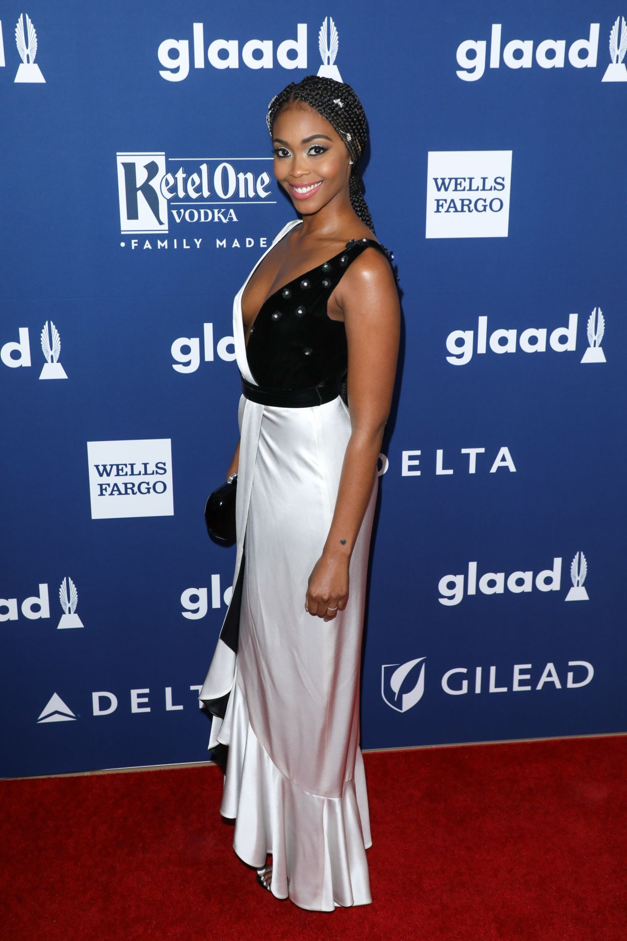 Nafessa Williams 2018 Glaad Media Awards In La