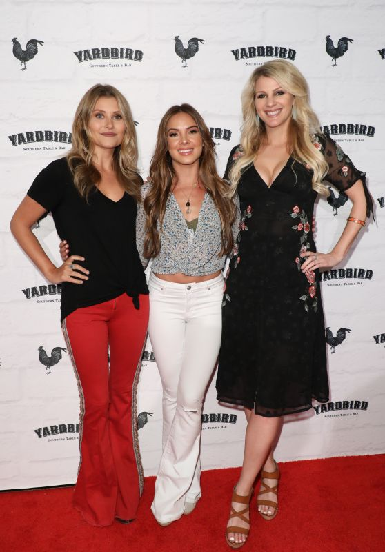 Naomi Cooke, Hannah Mulholland and Jennifer Wayne - Yardbird Southern Table & Bar Los Angeles Grand Opening at the Beverly Center
