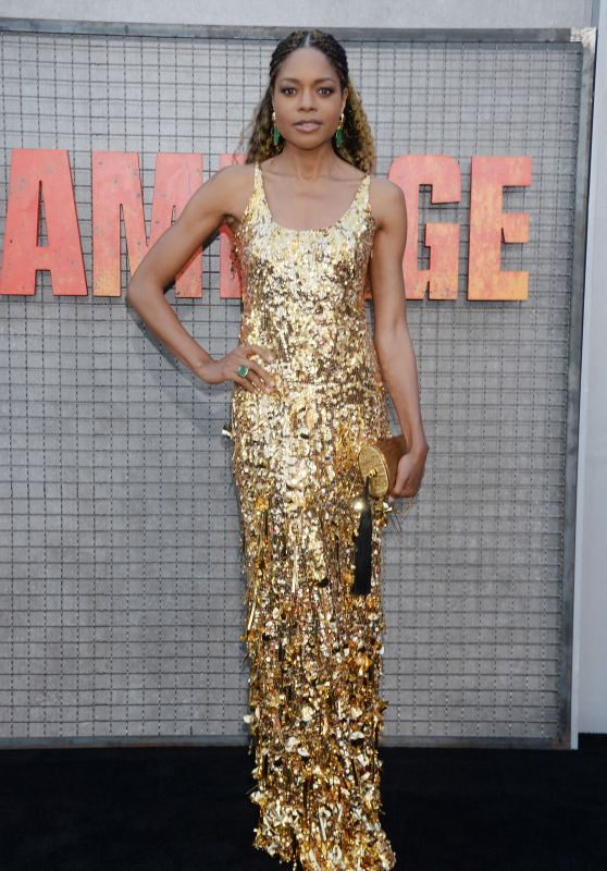 """Naomie Harris – """"Rampage"""" Premiere in LA"""