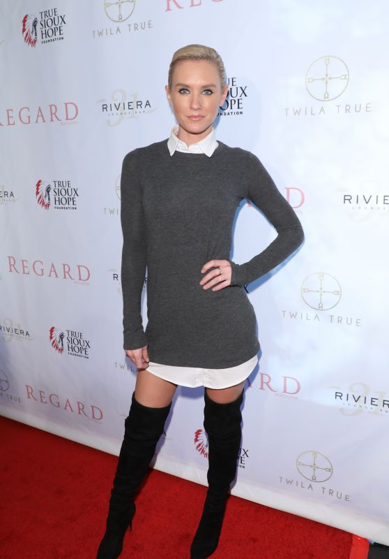 Nicky Whelan - Regard Magazine Spring 2018 Cover Unveiling Party in West Hollywood