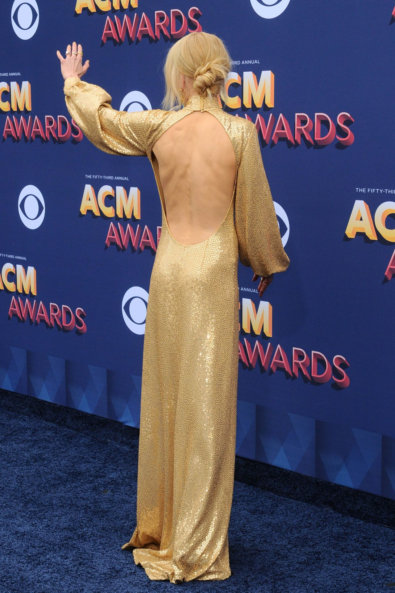 Nicole Kidman 2018 Academy Of Country Music Awards In