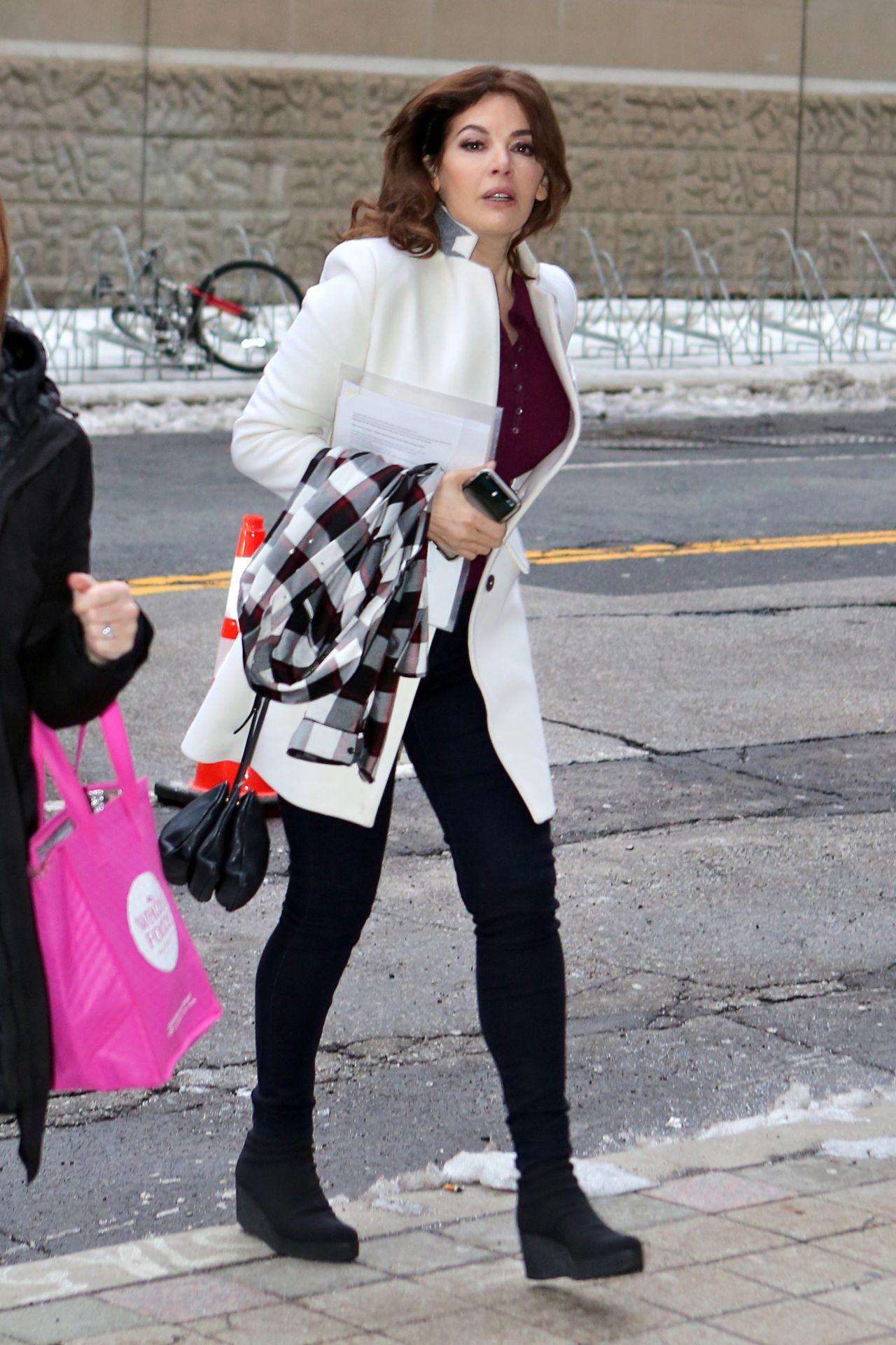 Nigella Lawson Arrives At Cbc Building In Toronto 04 17 2018