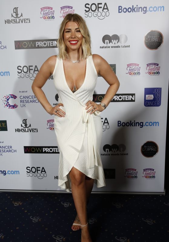 Olivia Buckland – James Ingham Jog-On To Cancer Charity Event in London
