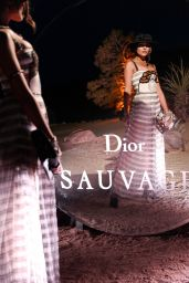 Olivia Culpo - Dior Sauvage Party in Pioneertown 04/12/2018