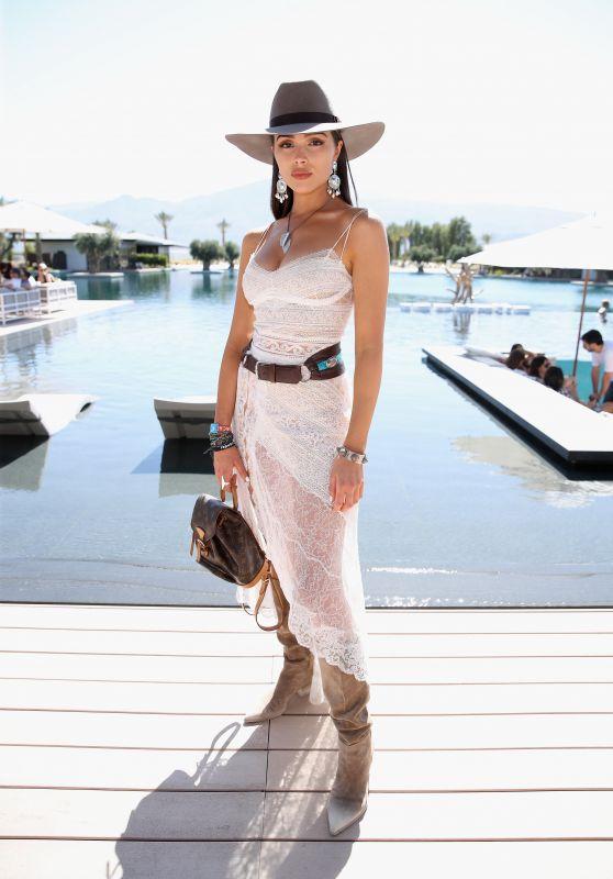 """Olivia Culpo - """"The Estate"""" at Coachella 2018 in Palm Springs"""