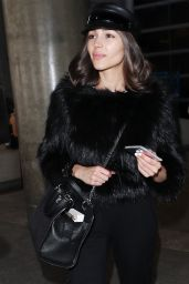 Olivia Culpo Travel Style - LAX Airport in Los Angeles 04/11/2018