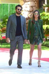 Olivia Munn - Leaving a Party Honoring Eva Longoria in Beverly Hills