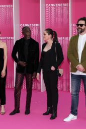"Paula Beer - ""The Truth about Harry Quebert"" Pink Carpet - 1st Cannes International Series Festival 04/07/2018"