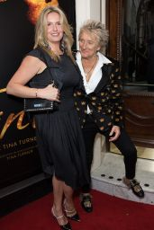 Penny Lancaster and Rod Stewart - Tina: The Tina Turner Musical in London