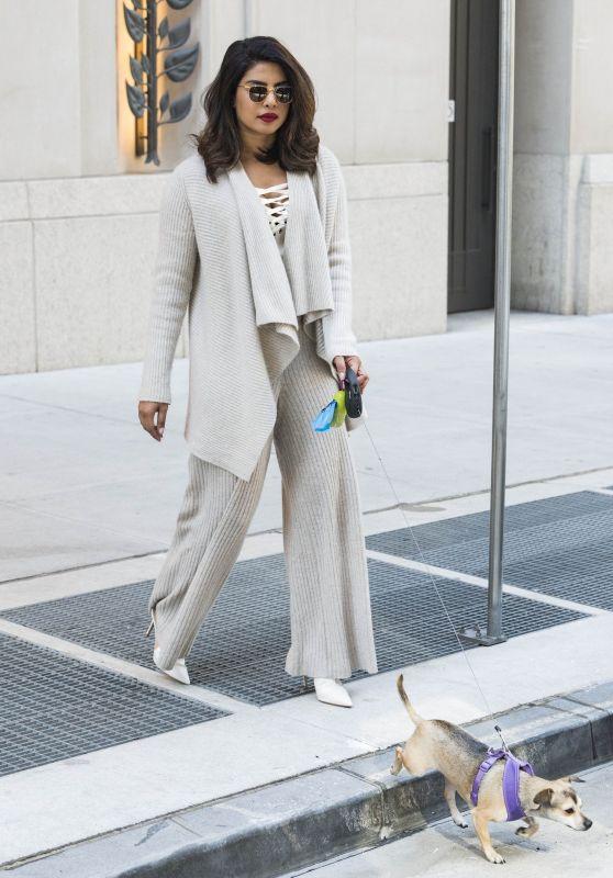 Priyanka Chopra - Leaving Her Hotel in NYC 04/23/2018