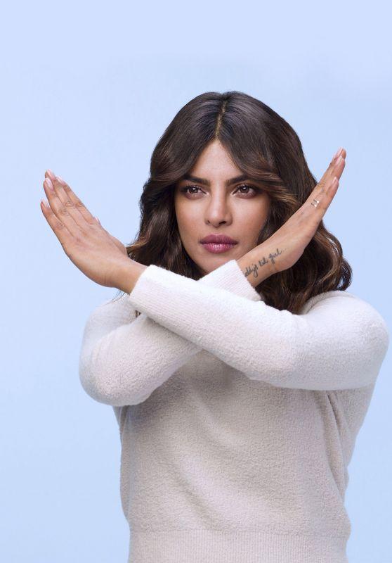 Priyanka Chopra - Pantene #GoGentle Campaing Photoshoot
