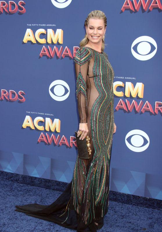Rebecca Romijn – 2018 Academy of Country Music Awards in Las Vegas