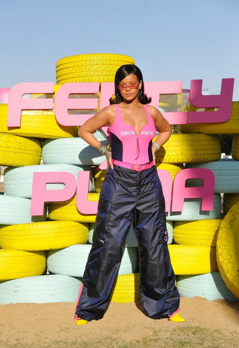 Rihanna Fenty X Puma Coachella 2018 Party