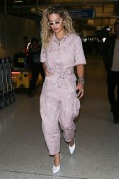 Rita Ora - LAX Airport in Los Angeles 04/16/2018