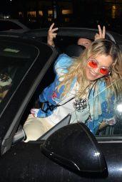 Rita Ora Night Out Style - Kent 04/20/2018