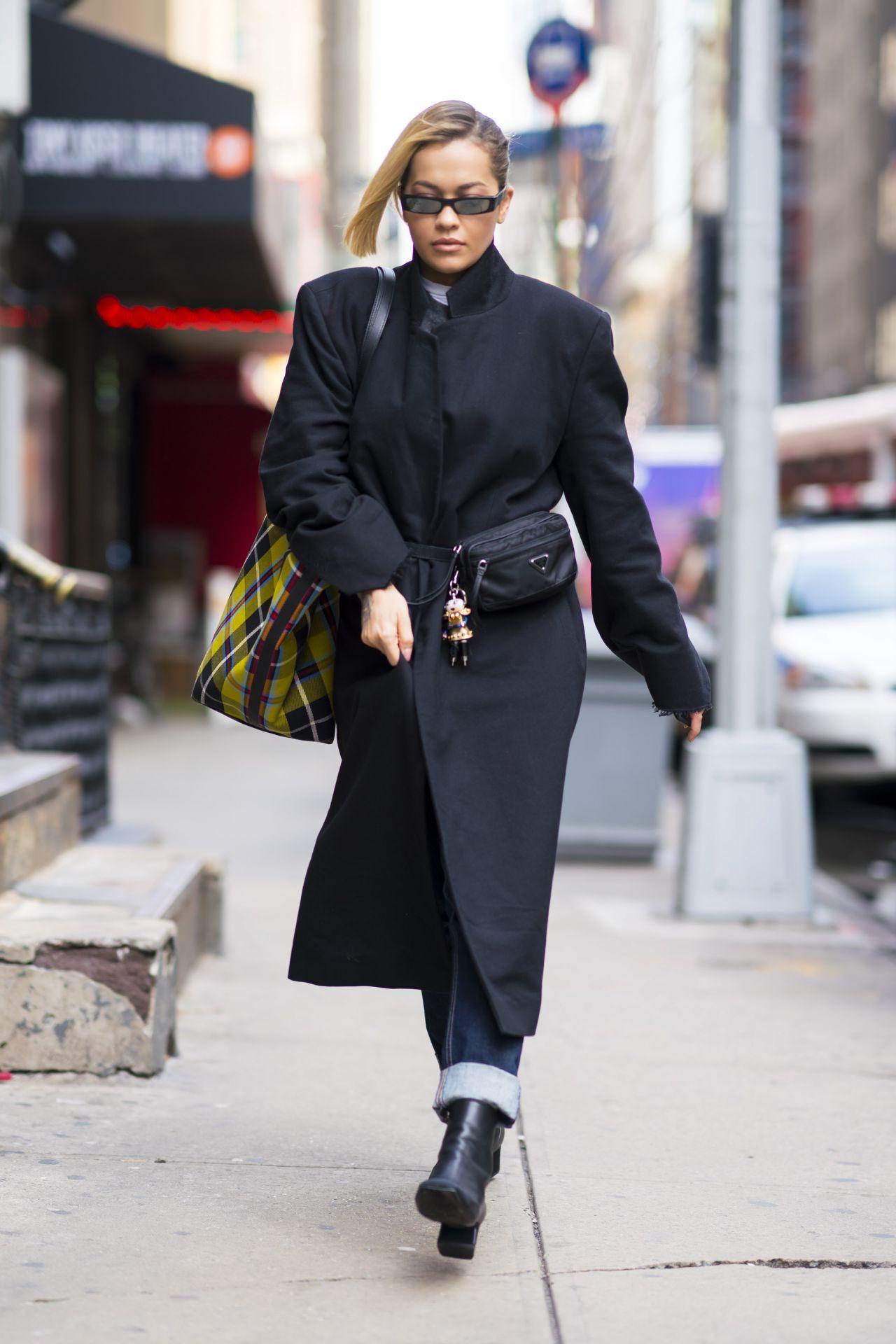 Rita Ora Street Fashion New York City 04 06 2018