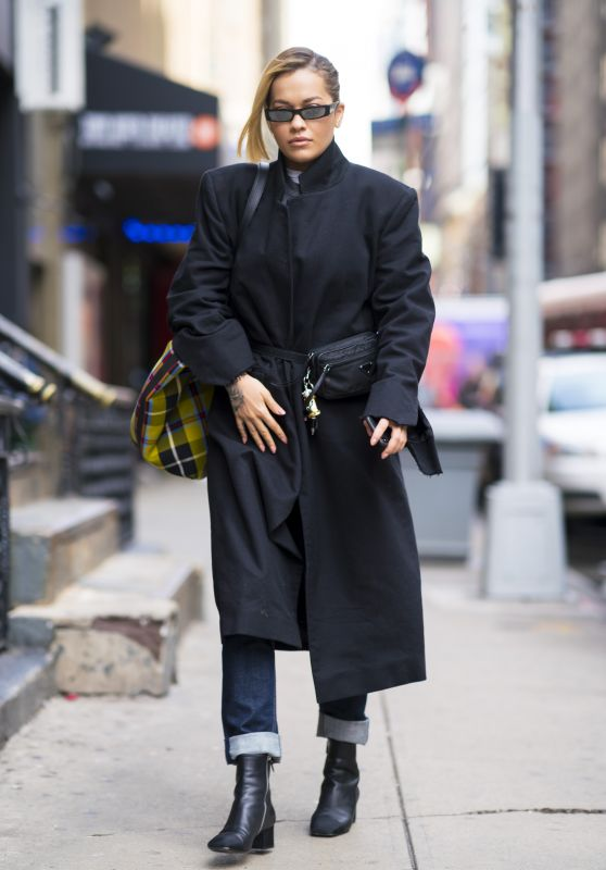 Rita Ora Street Fashion - New York City 04/06/2018