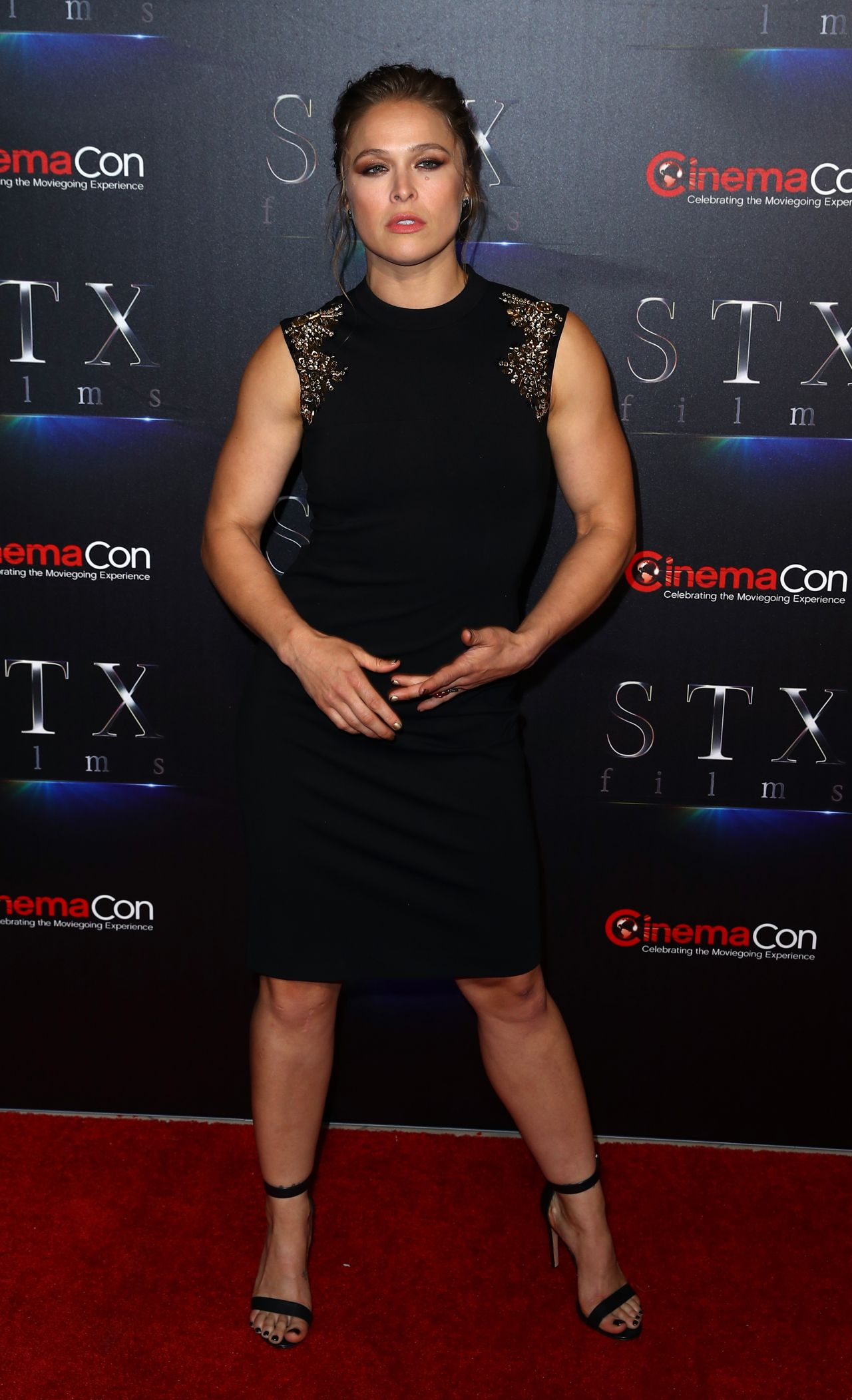 Ronda Rousey Stxfilms Presentation At Cinemacon 2018 In