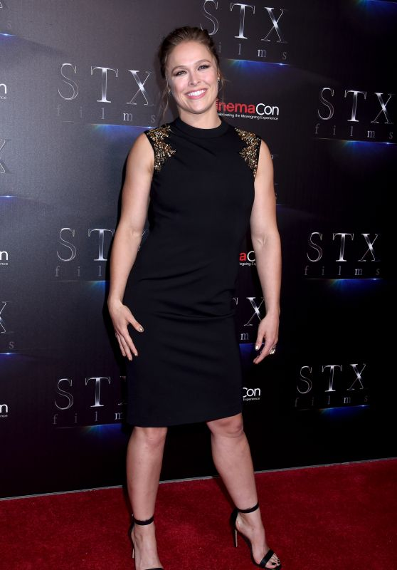 Ronda Rousey - STXfilms Presentation at CinemaCon 2018 in Las Vegas