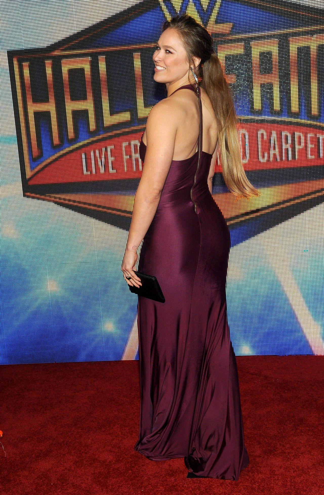 Ronda Rousey Wwe S 2018 Hall Of Fame Induction Ceremony