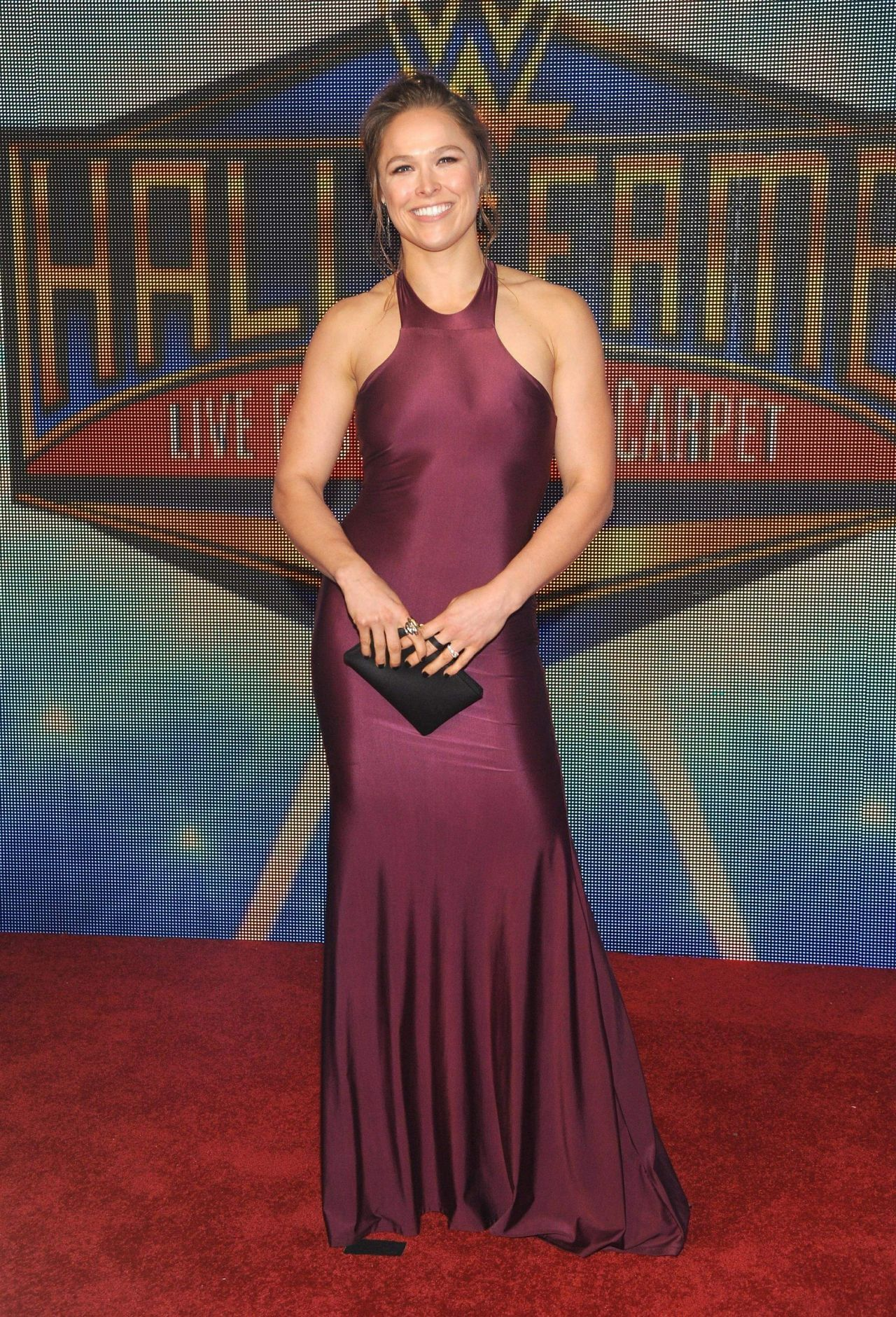 ronda rousey wwes 2018 hall of fame induction ceremony