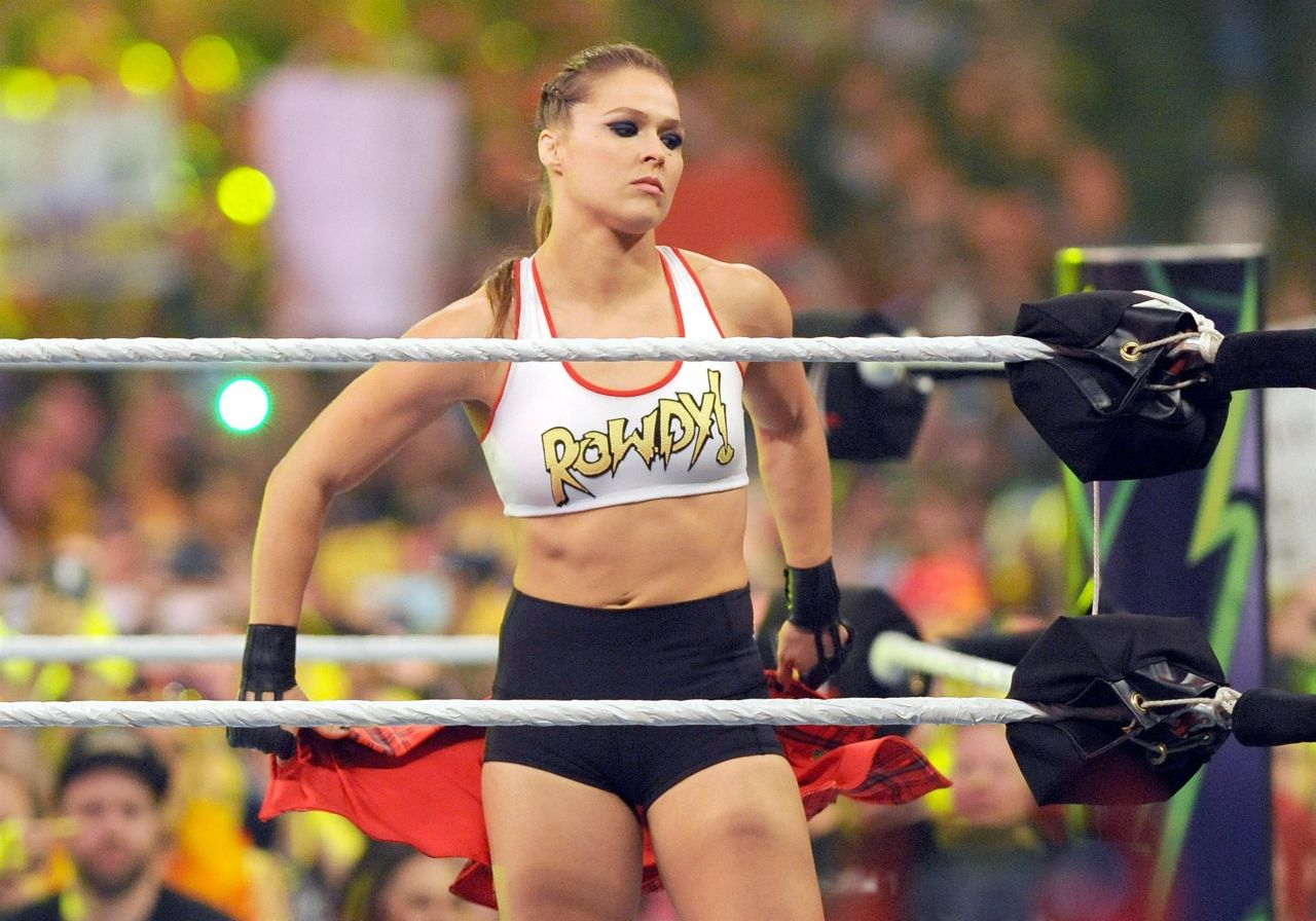 Mercedes Palm Springs >> Ronda Rousey - WWE Wrestlemania 34 in New Orleans
