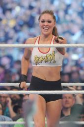 Ronda Rousey - WWE Wrestlemania 34 in New Orleans