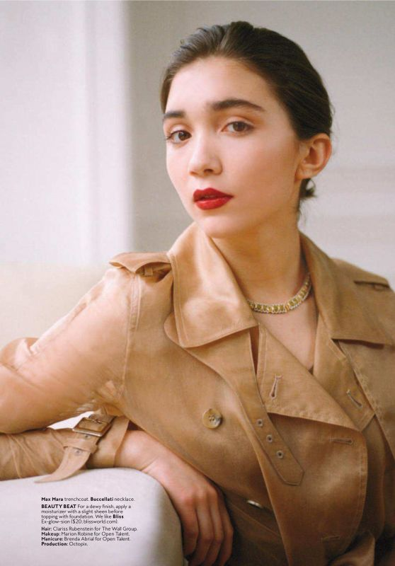 Rowan Blanchard Instyle Magazine May 2018 Issue