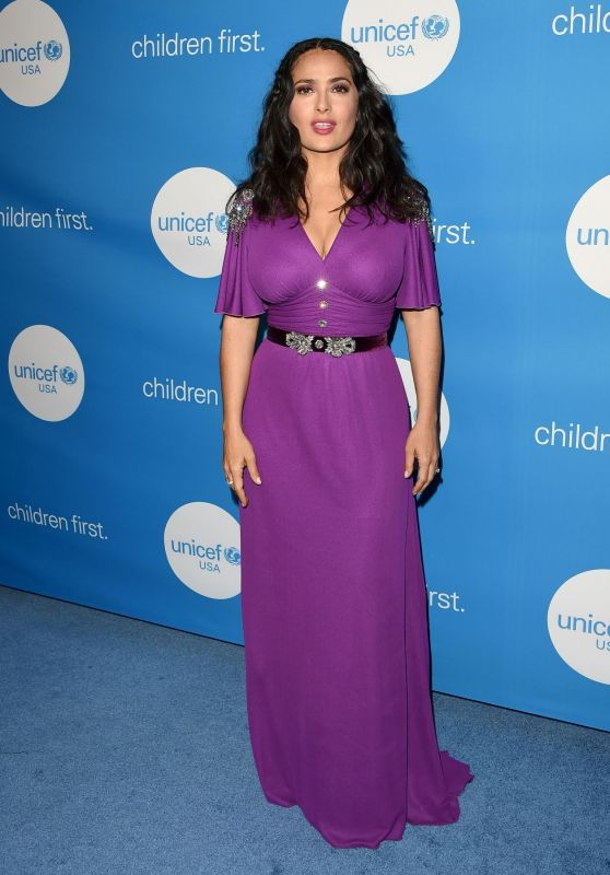 Salma Hayek - 7th Biennial UNICEF Ball in Beverly Hills