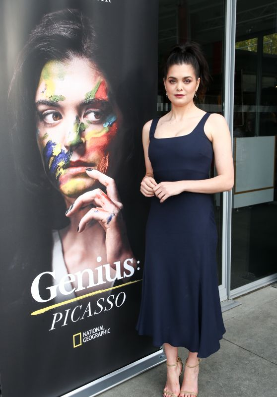 "Samantha Colley - ""Genius: Picasso"" TV Show Dinner and Conversation in LA"