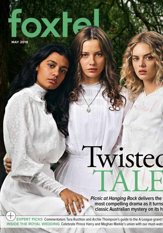 Samara Weaving, Lily Sullivan and Madeleine Madden - Foxtel Magazine May 2018 Issue