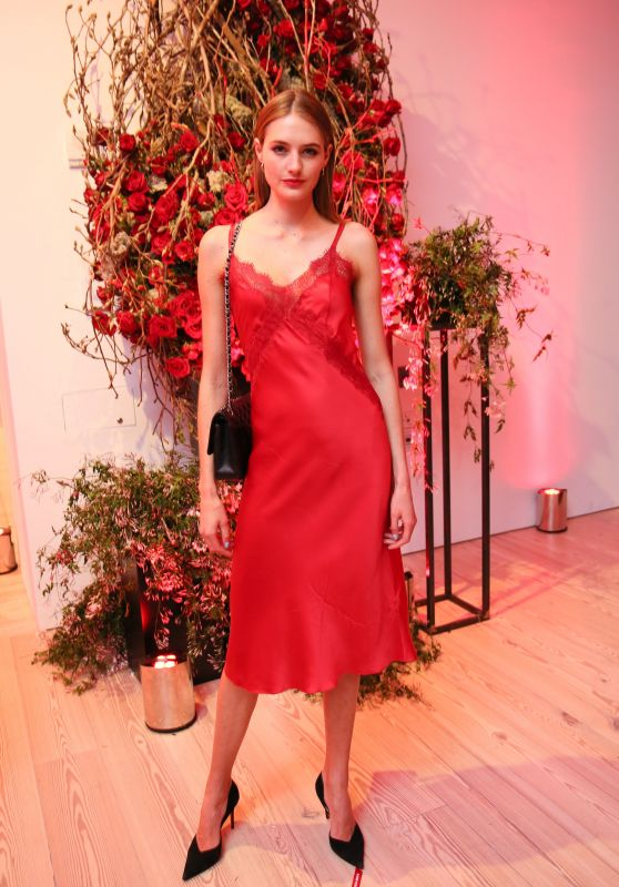 "Sanne Vloet – Giorgio Armani ""Si Passione"" Fragrance & Vogue Launch Celebration in NY"