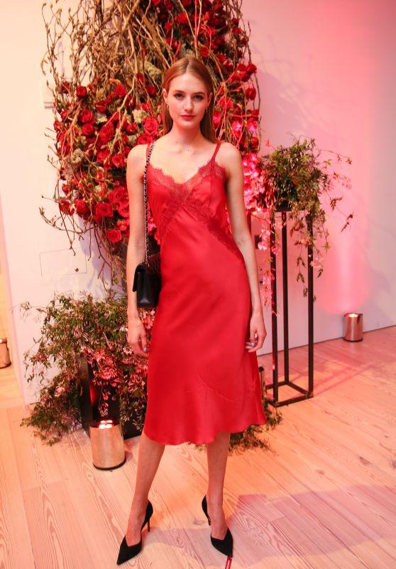 """Sanne Vloet – Giorgio Armani """"Si Passione"""" Fragrance & Vogue Launch Celebration in NY"""