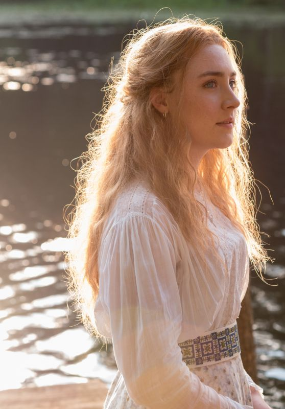"Saoirse Ronan, Annette Bening and Elisabeth Moss - ""The Seagull"" Movie Stills 2018"