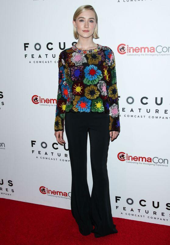 Saoirse Ronan - Focus Features Presentation at CinemaCon 2018 in Las Vegas