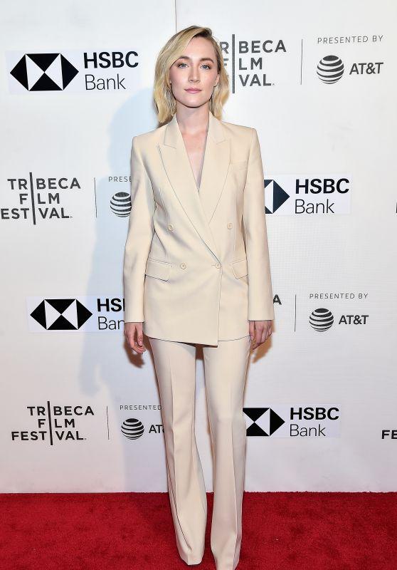 "Saoirse Ronan - ""The Seagull"" Premiere - 2018 Tribeca Film Festival in NYC"
