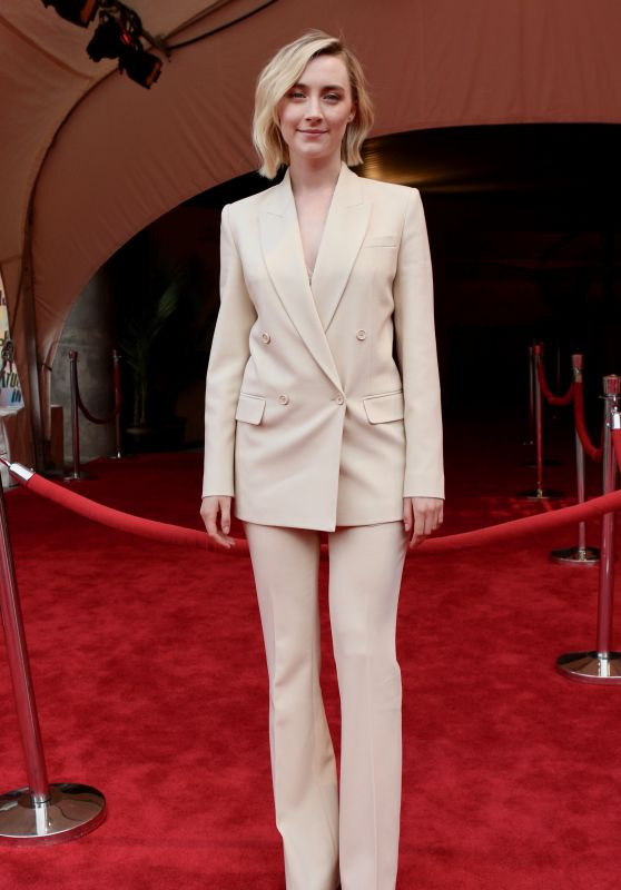 """Saoirse Ronan - """"The Seagull"""" Premiere at Tribeca Film Festival in NY"""