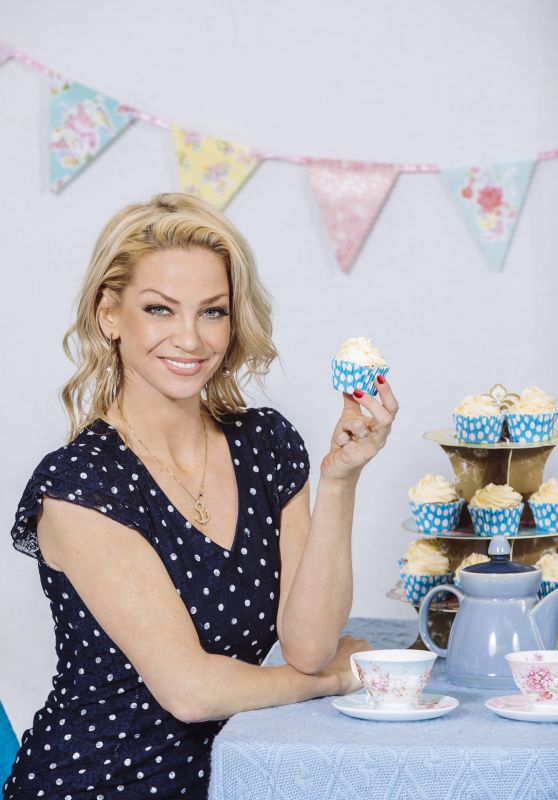 Sarah Harding - Paws for Tea Campaign 2018