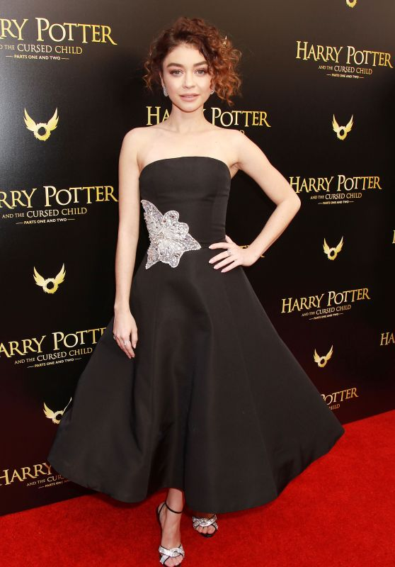 Sarah Hyland - Harry Potter and the Cursed Child Opening Day in NYC