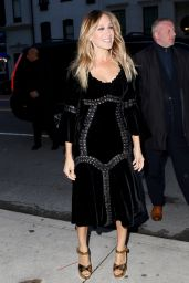 Sarah Jessica Parker - Arrives for 2018 Tribeca Film Festival with Blue Night in NY