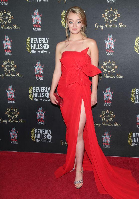 Savannah Kennick – 2018 International Beverly Hills Film Festival Opening Night Gala