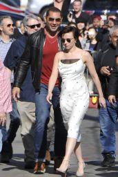 Scarlett Johansson Arriving to Appear on Jimmy Kimmel Live in LA 04/24/2018